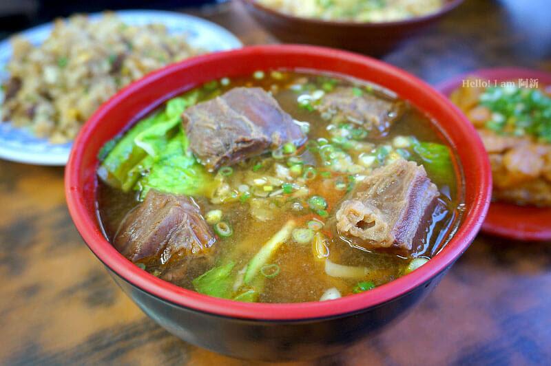 台中西區牛肉麵,龍華閣牛肉麵