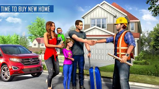 New Family House Builder Happy Family Simulator screenshots 7