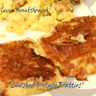 Smashed Potato Patties!