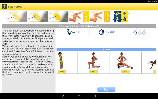 Butt Workout screenshot 08