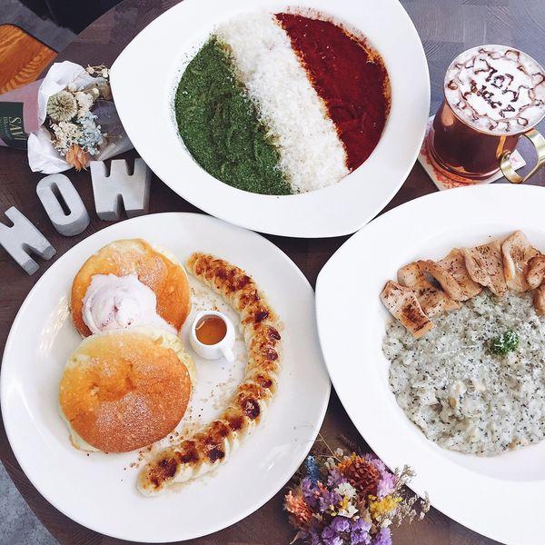 隱身逢甲巷弄質感餐廳『Now Place現在』大推松阪豬松露燉飯、重起司三色麵,還有ㄉㄨㄞㄉㄨㄞ舒芙蕾熱蛋糕! 【台南女孩凱莉吃透透】