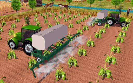 Farming sim 2018 - Tractor driving simulator apkdebit screenshots 7