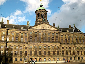 Photo: The Royal Palace on the Dam (square).