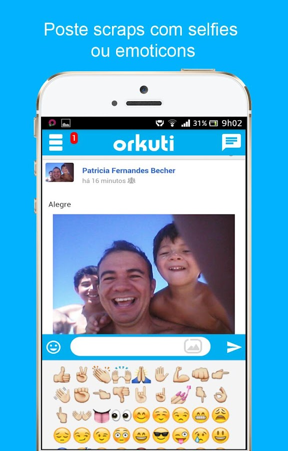 Orkut.one- screenshot