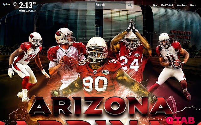 Arizona Cardinals Wallpapers Theme New Tab