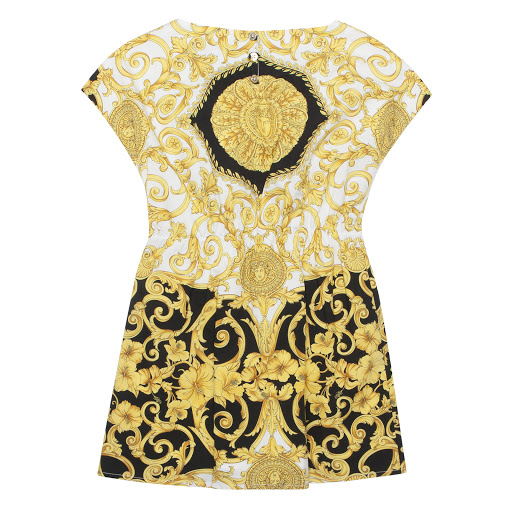 Thumbnail images of Versace Cotton Baroque Dress