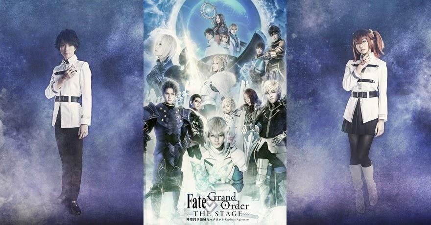 ละครเวที Fate/Grand Order The Stage เปิดเผยภาพนักแสดงหลักชุดที่ 2 แล้ว!