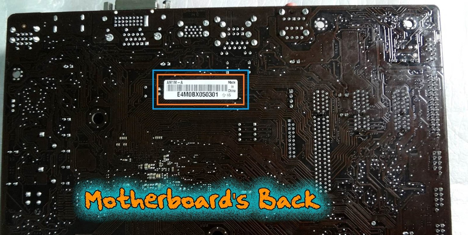 4 Different Ways to Find Your Motherboard's Model Number