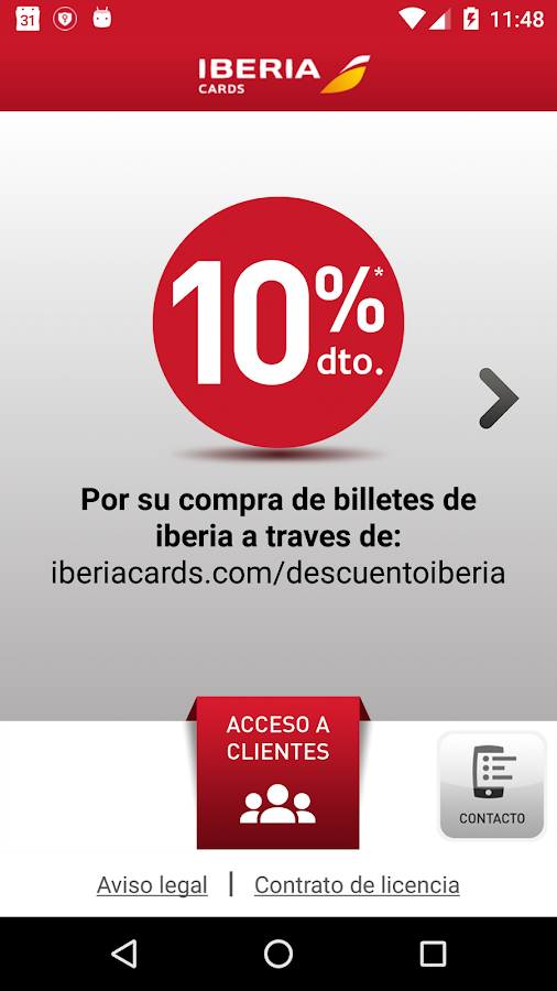Iberia Cards- screenshot