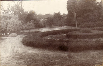 Photo: A kastélypark az árvíz idején