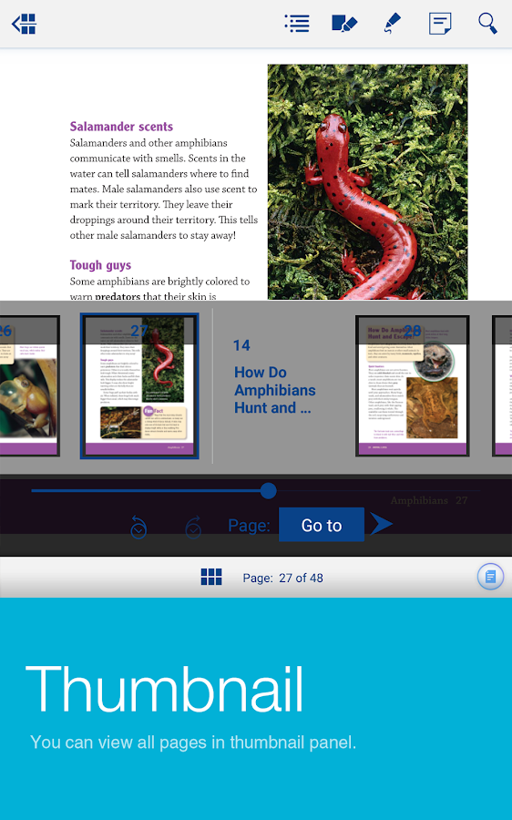 World Book eBook- screenshot