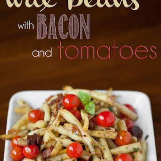Wax Beans with Bacon Vinaigrette
