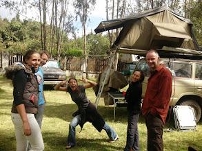 Photo: Annouk, Sebastian, Diana, Sharon, and Frank (from left to right), Karen Camp, Nairobi