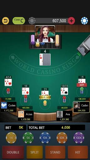 World Blackjack King screenshots 1