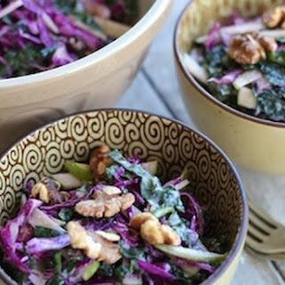 Kale & Purple Cabbage 'Slaw Recipe