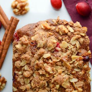 Cranberry Nut Pumpkin Loaves