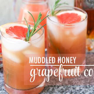 Muddled Honey Grapefruit Cocktail