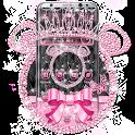 Pink Black Diamond Minny Theme icon