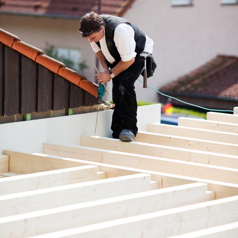 Dach płaski jest tańszy w budowie