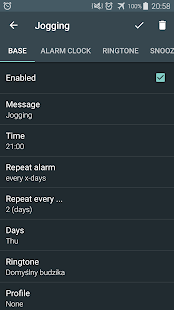 Alarm clock PRO- screenshot thumbnail