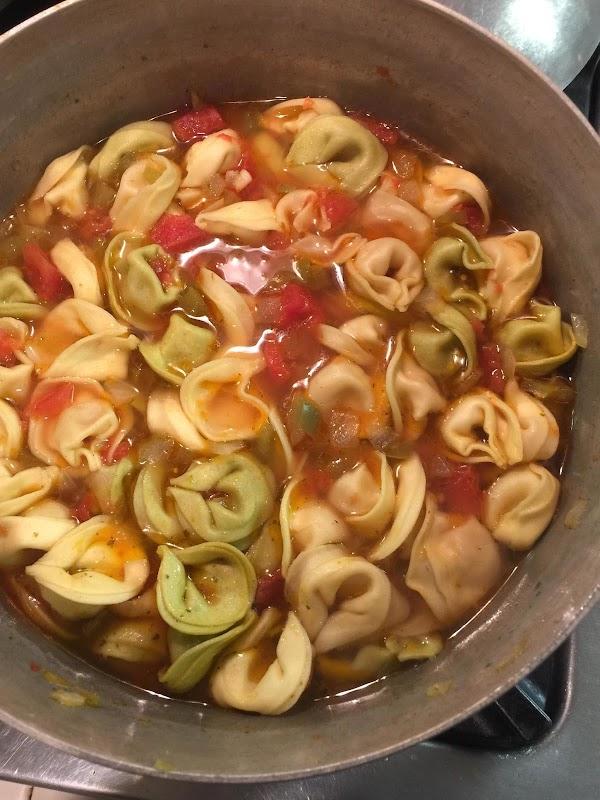 Chicken And Prosciutto Tortelloni Soup Recipe