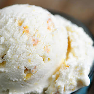 Peach Ice Cream.