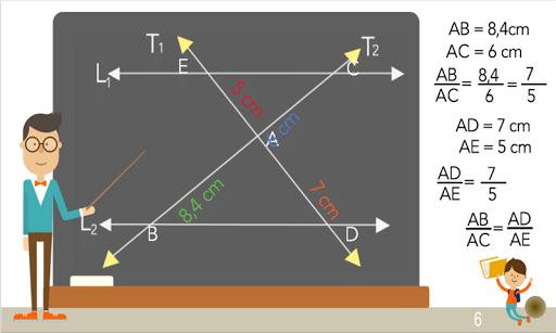 TeoremaThales semejanza trazos 1.0.0 screenshots 7
