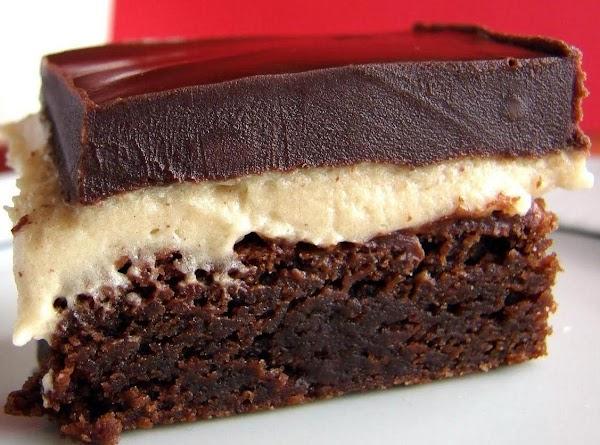 Peanut Butter Truffle Brownies Recipe