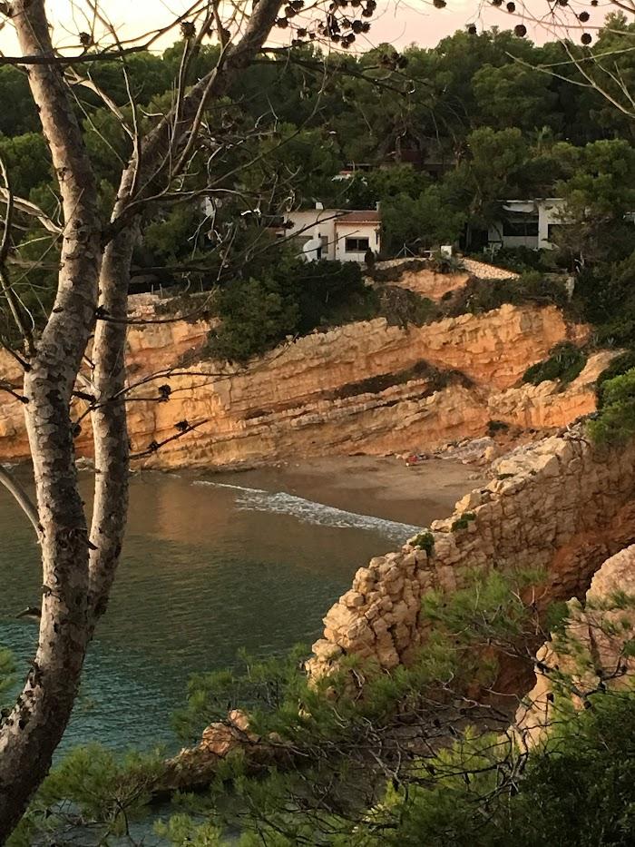 Het strand van Cala Penya Tallada