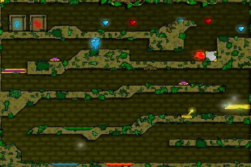 Fireboy Watergirl Forest Temple - screenshot