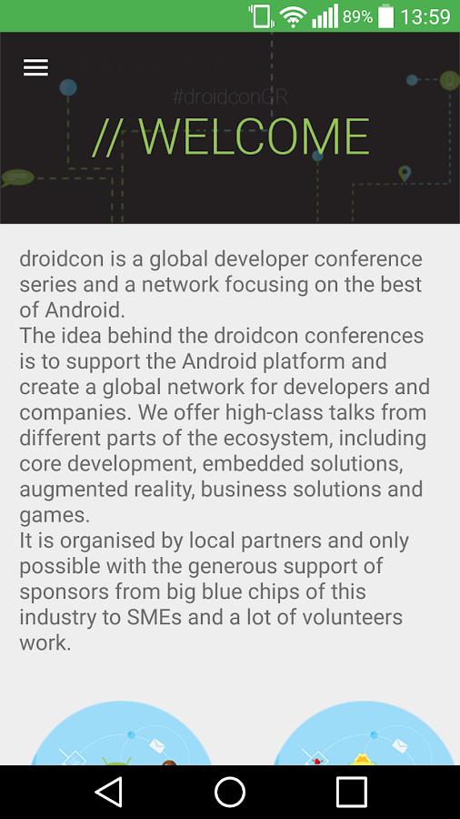 droidconGR_15 - στιγμιότυπο οθόνης