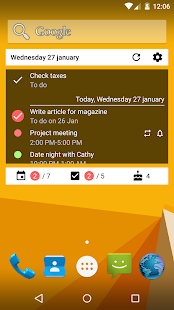 Calendar Widget What and When- screenshot thumbnail