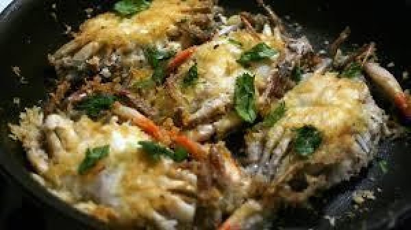 """Melt butter in saute"""" pan. When butter is 300 F. add garlic and shallots..."""