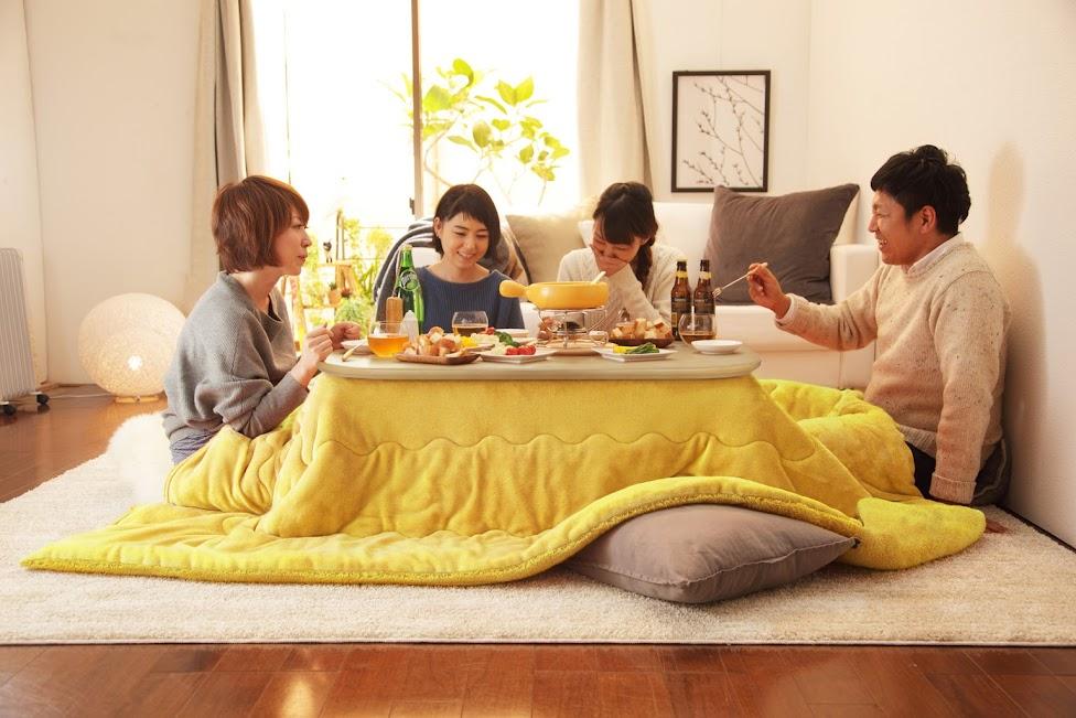 kotatsu, zalety Japonii