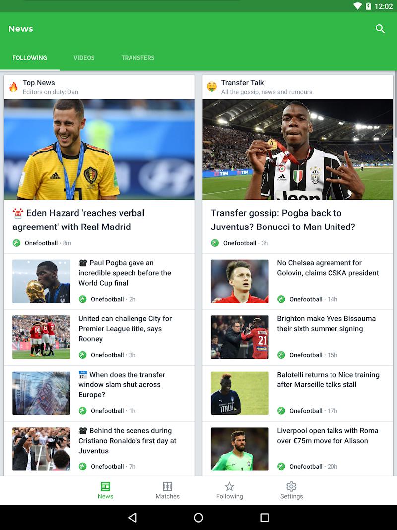 Onefootball - Soccer Scores Screenshot 15
