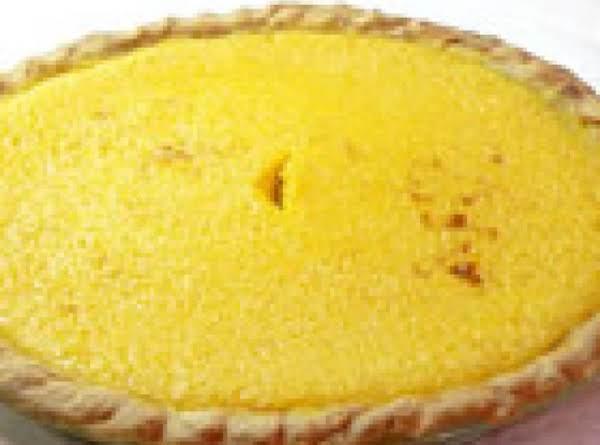 Yellow Squash  Pie ....slap Happy's  Desserts