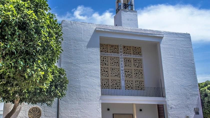 La parroquia de la Asunción de Campohermoso.