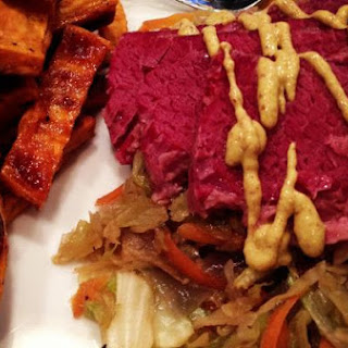 A Not So Traditional Corned Beef & Cabbage.