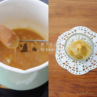 Homemade Maple Syrup Caramel.