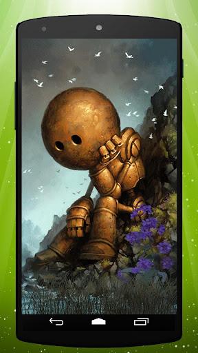 Sad Robot Live Wallpaper