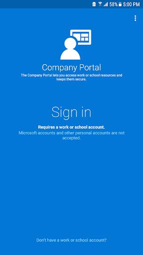 Intune Company Portal 5.0.4415.0 screenshots 1