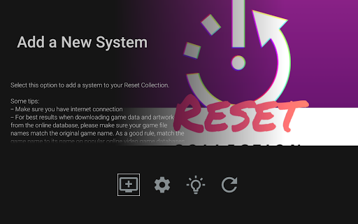 RESET Collection (Emulator Frontend)