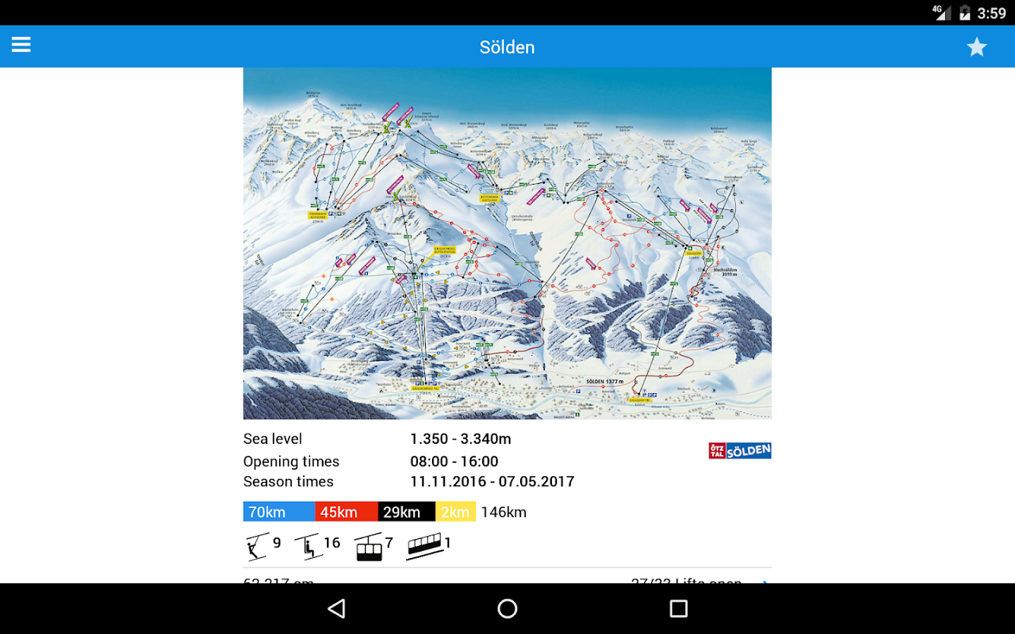 bergfex/Ski Lite- screenshot