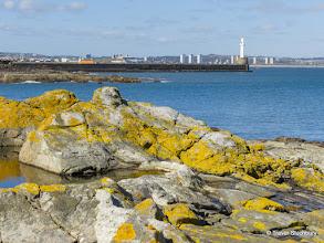 Photo: South Breakwater from Greyhope Bay, Aberdeen