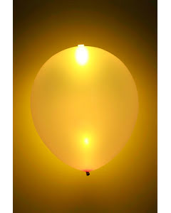 LED-ballong, guld 5st