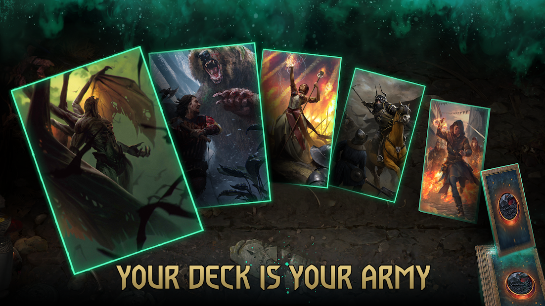 GWENT: The Witcher Card Game Android App Screenshot