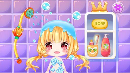 Princess Cherry Anime Care and Makeover: Tea Party 1.0 screenshots 3