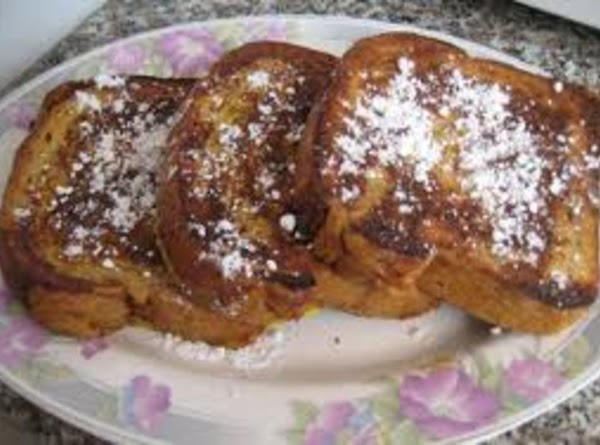 French Toast  Aka Snow Capped Mountains Recipe