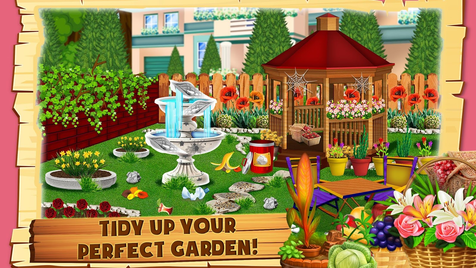 Garden Design Games Collection Entrancing Garden Design Games  Flower Decoration  Android Apps On Google Play Inspiration