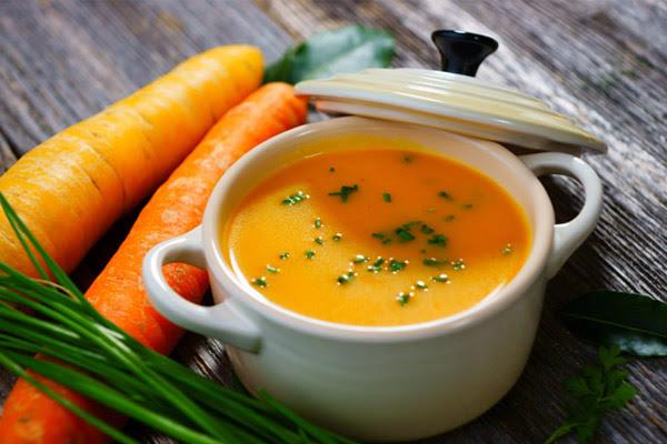 Sopa Cremosa de Cenoura e Batata